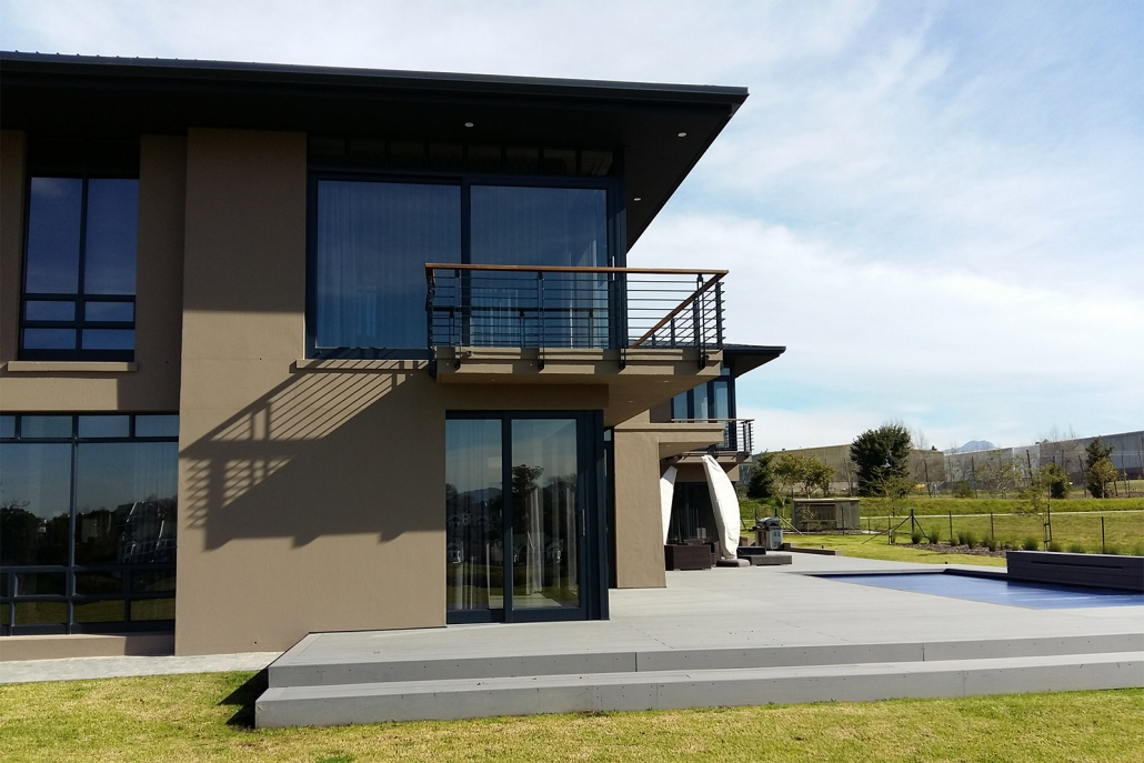 Extra exterior view of Fancourt House