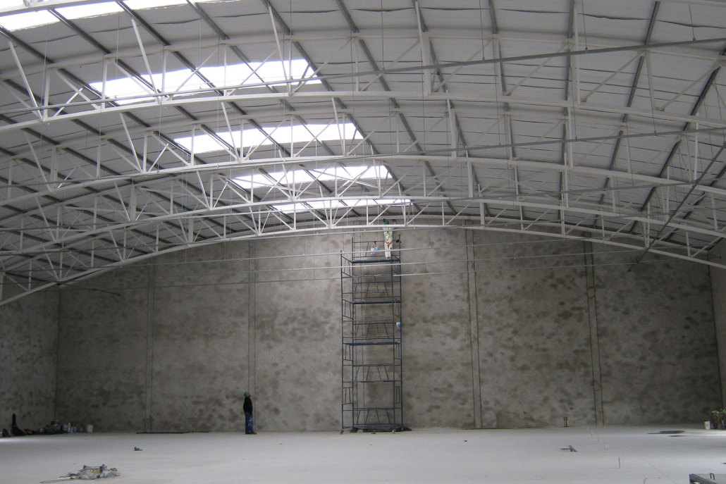 Shopping Centre Engineering - Completed Structure