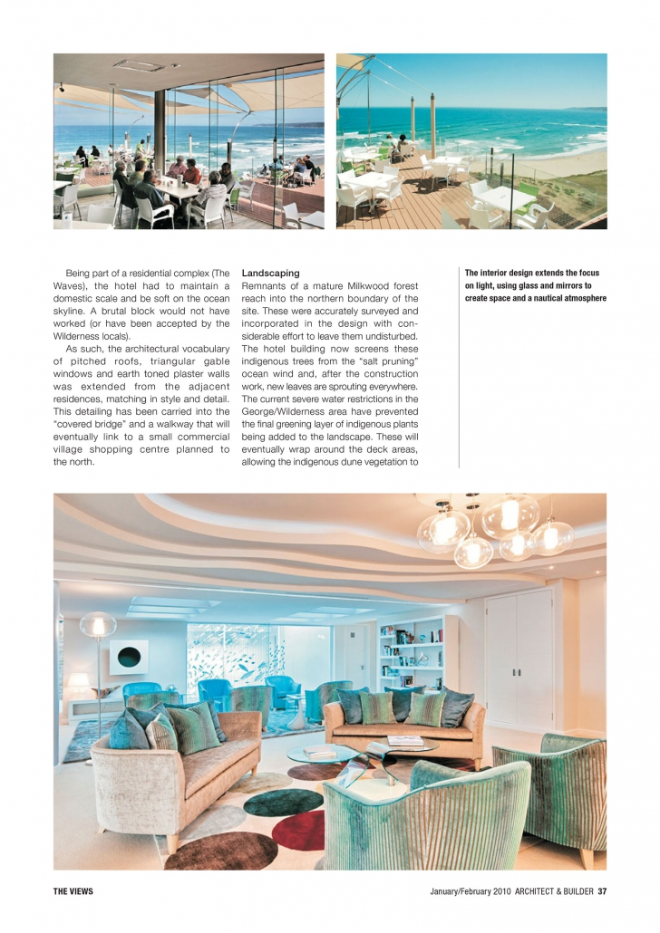 Architect and Builder Article - 4
