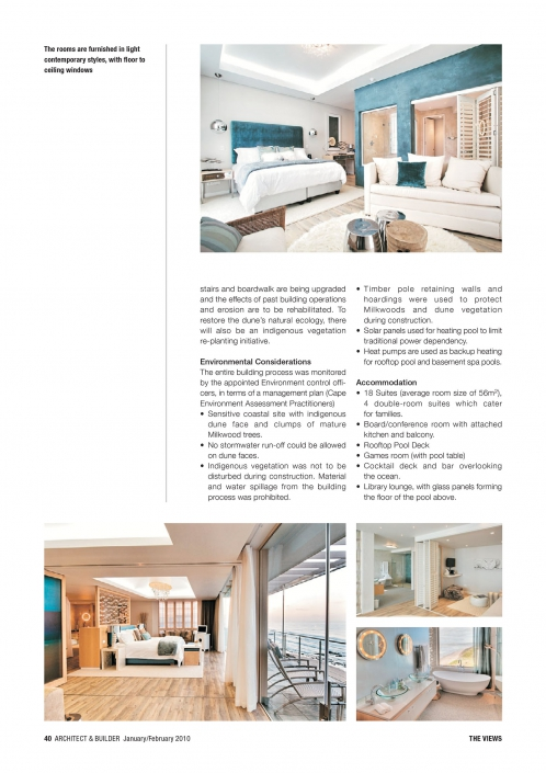 Architect and Builder Article - 7