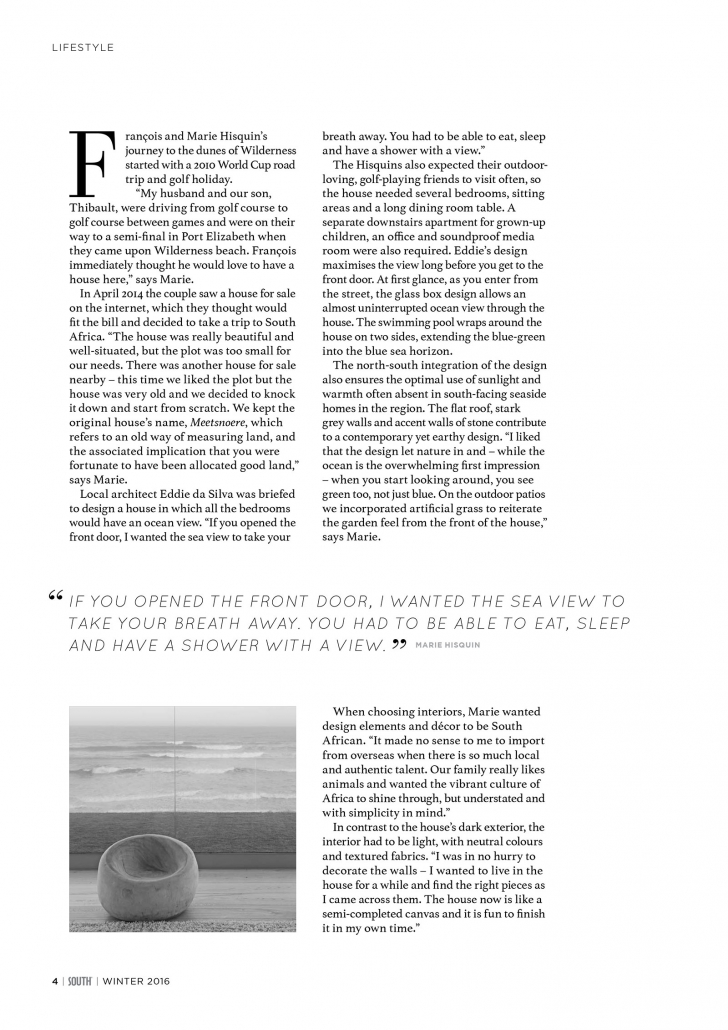 South Magazine Article - 4